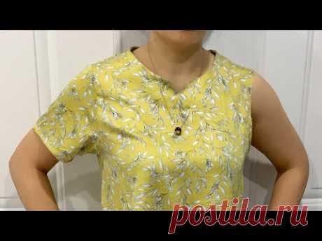 ⭐️Пошаговая инструкция по пошиву подмышек и рукавов рубашки в соответствии с размерами тела
