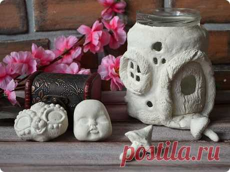 Делаем паперклей (paper clay) своими руками   Страна Мастеров