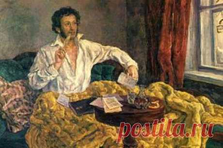 Throwing down a challenge to everyone. Pushkin was ruined by scandalous temper and rancor