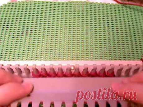 Вязание на Ивушке  Урок 2  Резинка в резинке или двойная резинка