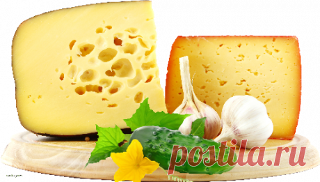 Juicy paste from garlic and cheese