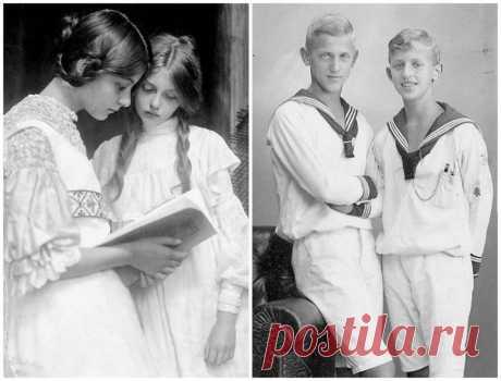 Даешь молодежь: как выглядели подростки из разных стран 100 лет назад . Тут забавно !!!