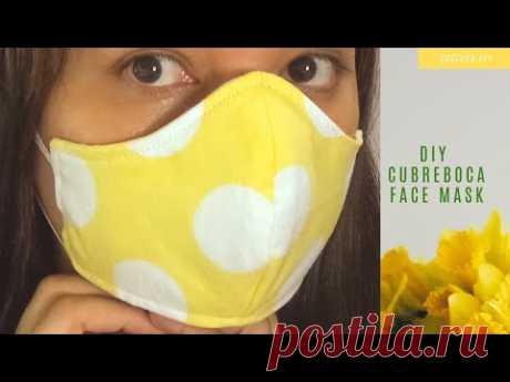 Cómo hacer un tapabocas de tela contra alergias