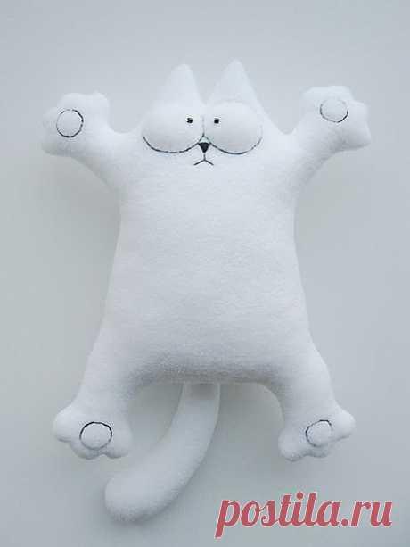 Кот Саймон - мягкая игрушка