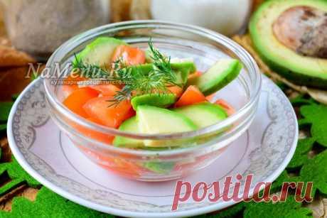 Диетический салат с авокадо, рецепт с фото