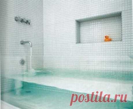 Прозрачная ванна из орг-стекла!