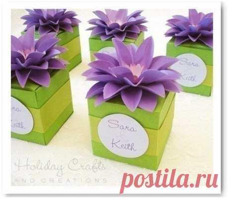 Цветочная коробочка — DIYIdeas