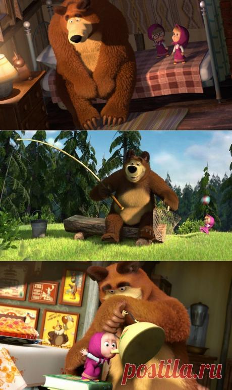 """""""Без родителей, в лесу с медведем"""" Подумал о том, где же родственники Маши из мультфильма"""