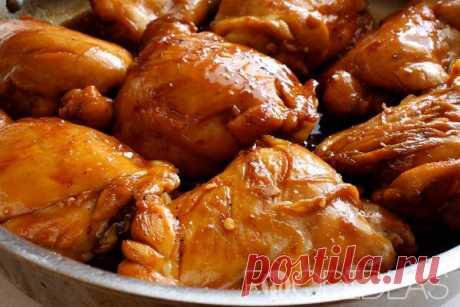Курица в карамельной заливке: рецепт с фото - рецепт приготовления с фото