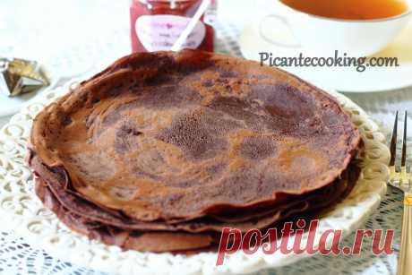 Шоколадні налисники | Picantecooking
