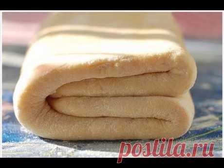 СЛОЕНОЕ ТЕСТО за 10 МИНУТ! УНИВЕРСАЛЬНОЕ! ХРУСТЯЩЕЕ! Puff pastry