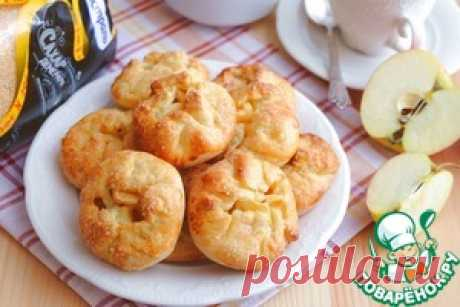 Small knots with apples - the culinary recipe