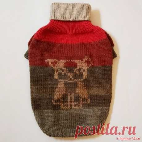 Расчет реглана в свитере для французского бульдога - Гардероб для наших любимых питомцев (собак, кошек) - Страна Мам