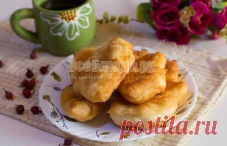 Пышки без дрожжей и без яиц на сковороде (тесто на кефире) - рецепт с пошаговыми фото   Все Блюда