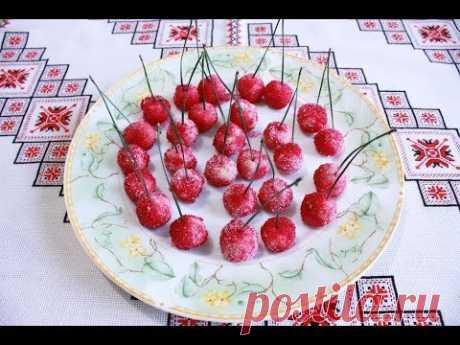 Печенье рецепт Вишенки без выпечки Пирожное без выпечки Вишенка Печиво Вишеньки рецепт печенья