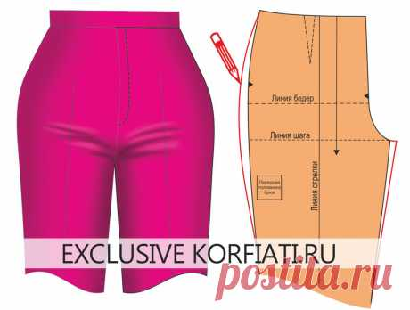 Defects of landing of trousers and correction - A. Korfiatya's councils