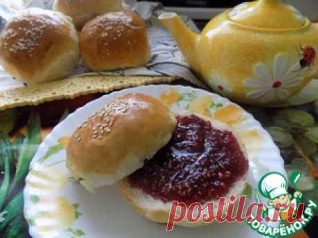 Los panecillos de la masa con levadura - la receta de cocina