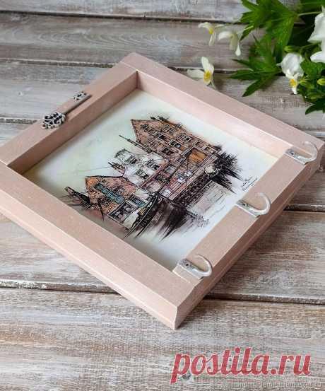 Ключница настенная Амстердам – купить на Ярмарке Мастеров – M15EIRU | Ключницы настенные, Москва