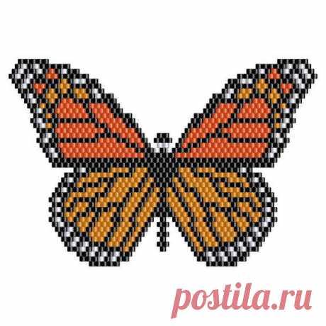 695 лучшие изображения о бисером бабочек, ошибок и птиц на ...