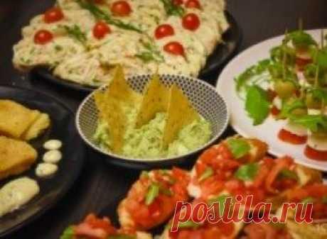 5 рецептов быстрых закусок для вечеринки К вам неожиданно нагрянули гости, а вы не знаете, чем их угостить? Смотрите наши рецепты быстрых закусок для вечеринки.