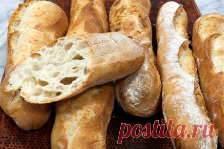 Багет: рецепт в духовке | Еда от ШефМаркет | Яндекс Дзен