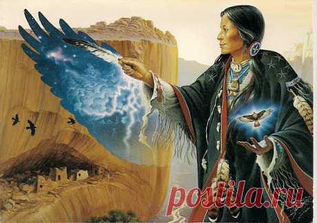 Языческий мир индейцев Северной Америки в картинах Чарльза Фриззла ( Charles Frizzell )