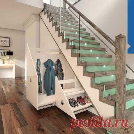 Какая крутая лестница, в которой все сделано правильно!