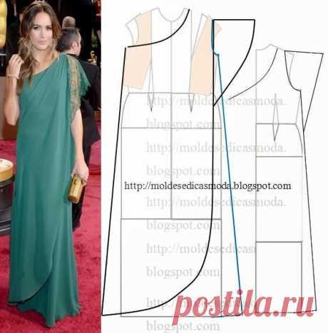 Моделирование оригинальных платьев — Сделай сам, идеи для творчества - DIY Ideas