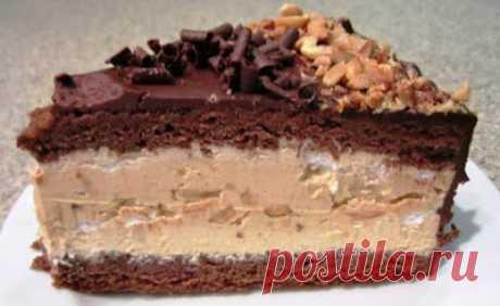 Сытно и вкусно: Торт «Сникерс». Лучший рецепт