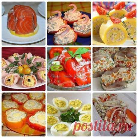 Бесподобные закуски для праздничного стола!!! – Простые советы