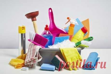 8 советов по хранению средств для уборки в квартире.