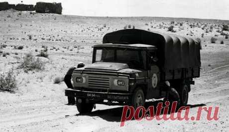 ЗИЛы в пустыне Каракумы: архивные фото 1971 года
