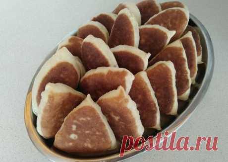 Постные пирожки с вареньем - пошаговый рецепт с фото.