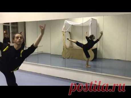 Олег Гуляев - репетиция балета.