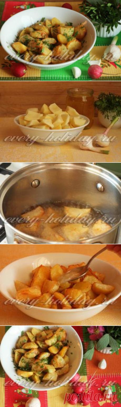 Картофель во фритюре: рецепт