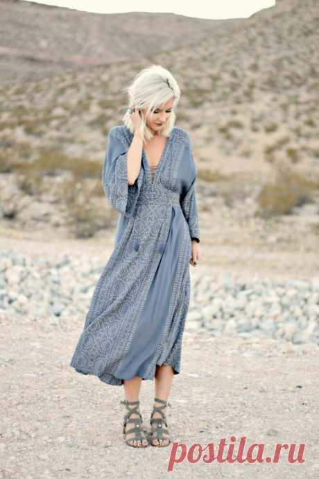 5 платьев в стиле бохо для стильных женщин: удобно, современно и красиво   Блог Oskelly   Яндекс Дзен