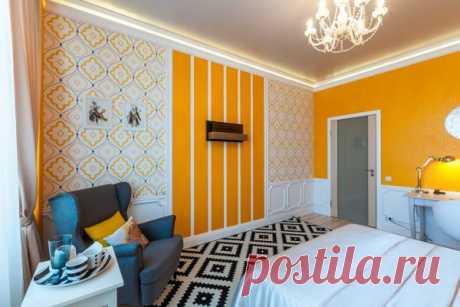 9 вариантов оформления стен в интерьере квартиры
