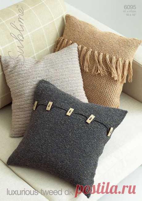 14 идей стильных интерьерных подушек | Рукоделие
