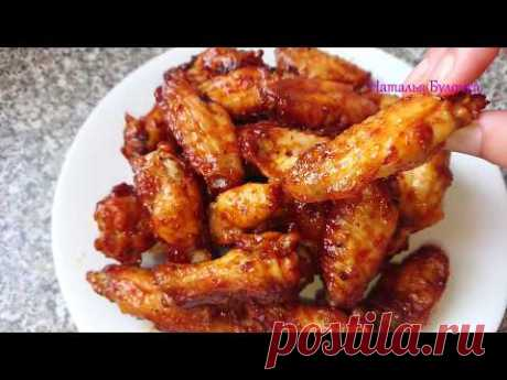 Крылышки в медовом соусе - Лучший сайт кулинарии