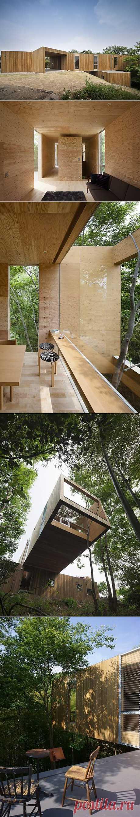 +Node оригинальный дом от японских дизайнеров. - Мир отделки и ремонта
