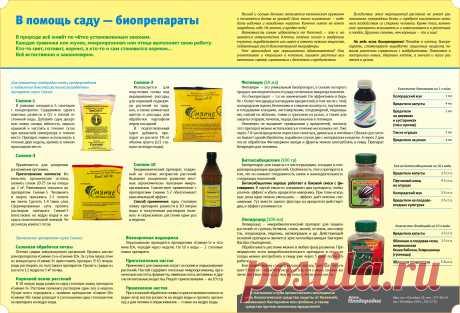В помощь саду — биопрепараты Нажмите на ссылку для увеличения.https://plodorodie.ru/sites/default/files/images/C...