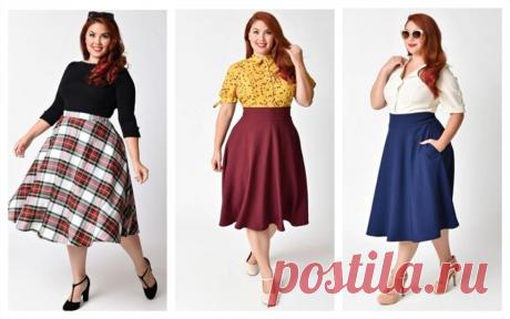 Шьем юбку солнце на любой размер - можно и для худеньких, и для полных дам | МНЕ ИНТЕРЕСНО | Яндекс Дзен