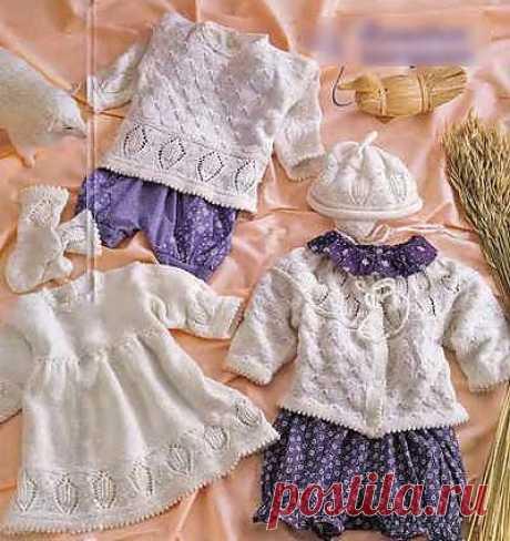 Вязание для новорожденных. 6 лучших моделей | Азбука Рукоделия