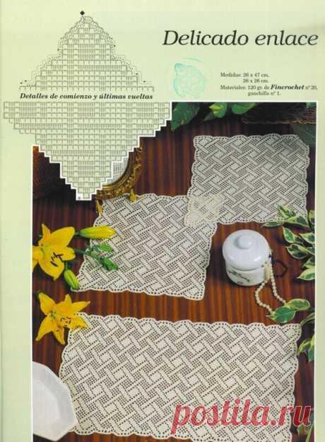 Никаких цветочков. Вязание для мужского интерьера. Три схемы с геометричным узором.