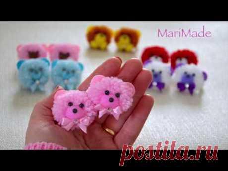 Мимишные Мишки Резинки Легко и Быстро МариМейд Cute Bears Hair Bands