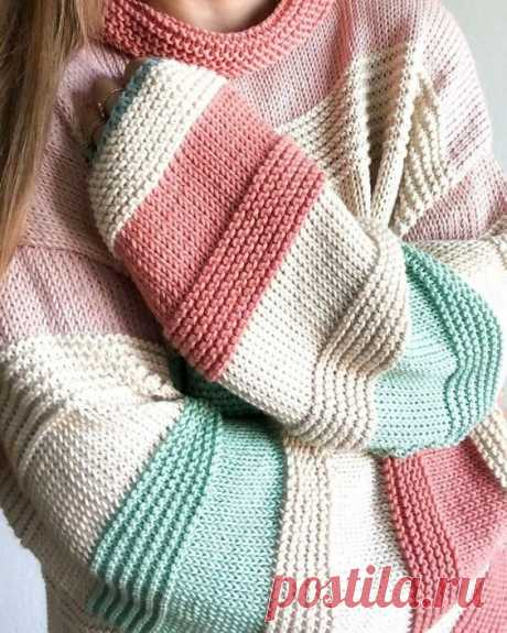 Какой свитер связать к осени, чтобы не выглядеть скучно. Подборка интересных моделей для вдохновения. Без схем. | Вяжу для души | Яндекс Дзен