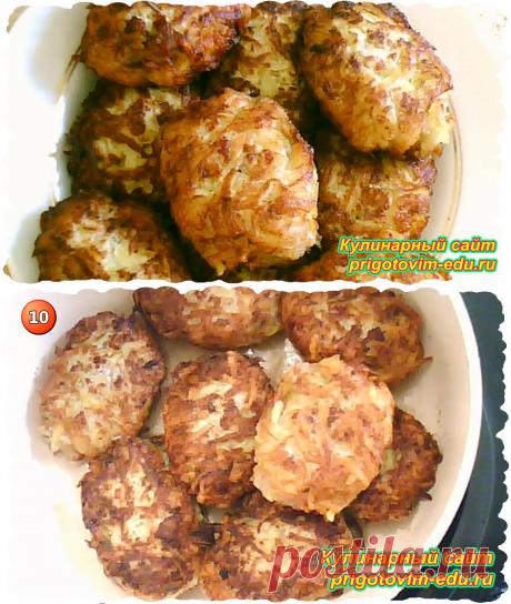 Картофельные котлеты с фаршем | Простые пошаговые фото рецепты | Яндекс Дзен
