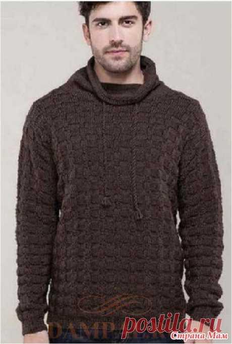 . Мужской свитер «Loic» - Вязание - Страна Мам