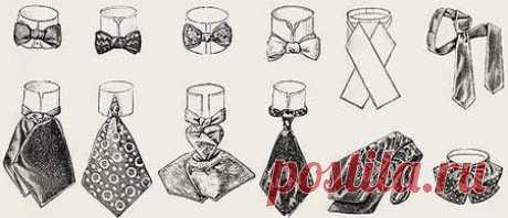 Галстук: история интересного элемента гардероба ...