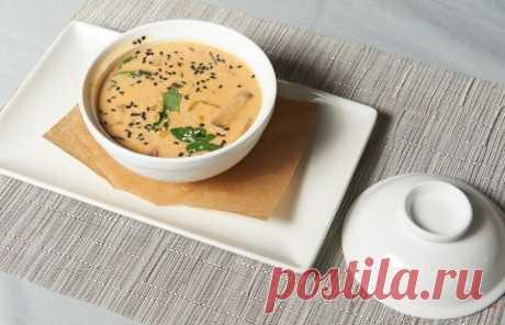 Тайский суп с красной чечевицей - пошаговый рецепт с фото
